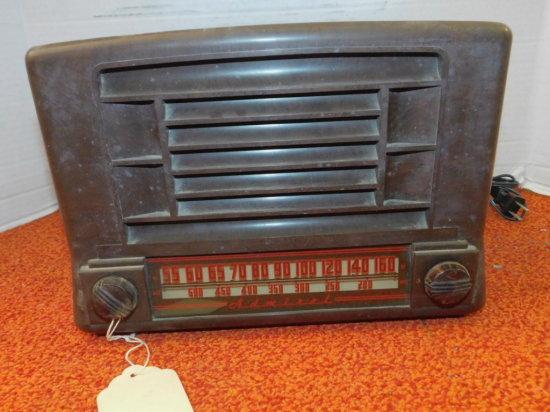 1946 ADMIRAL AM/METERS RADIO