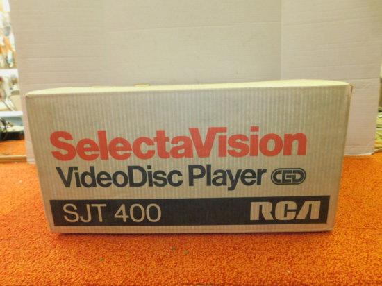 RCA SELECTAVISION VIDEO DISC PLAYER - NIB - UNOPENED