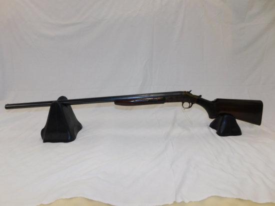H&R MODEL 1908 12GA SINGLE SHOT SOLID RIB SHOTGUN