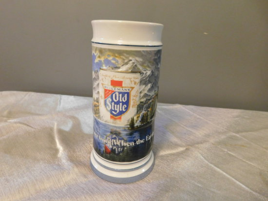 OLD STYLE 1985 LIMITED EDITION BEER STEIN