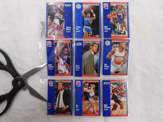 9 BASKETBALL COLLECTOR CARDS