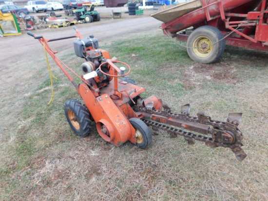 """DITCH WITCH C4 36"""" WALK BEHIND TRENCHER"""