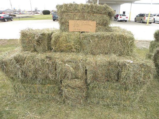 (84) BALES ALFALFA/ORCHARD GRASS 3RD CUTTING HAY