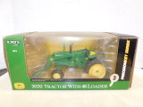 ERTL PRECISION KEY SERIES 1/16 JOHN DEERE 320 TRACTOR W/ #48 LOADER W/ BOX