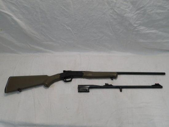 BRAZTECH MODEL S20 COMBINATION GUN W/ ROSSI 20GA BARREL & ROSSI .22LR BARREL