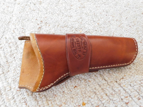 ELPASO SADDLERY CO - MAKERS LEATHER HOLSTER