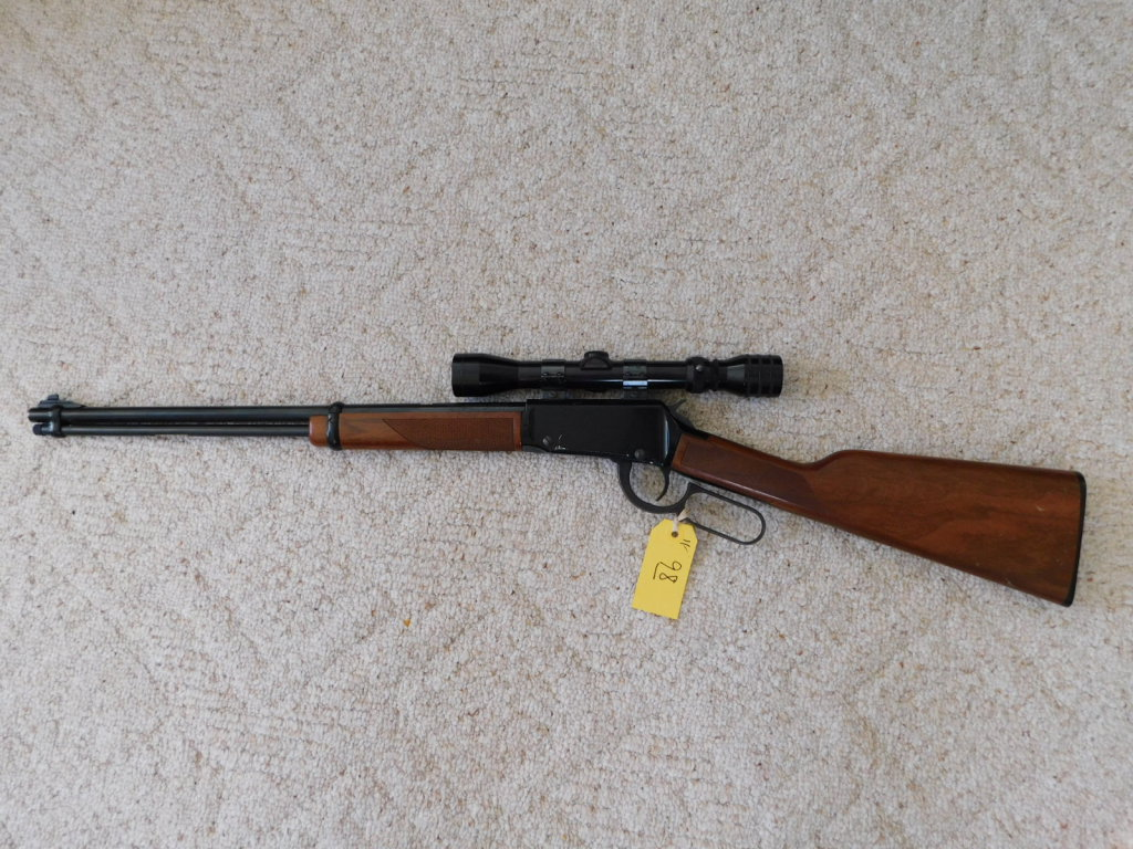 HENRY .22 MAG CAL LEVER ACTION RIFLE W/ REDFIELD 2X-7X SCOPE