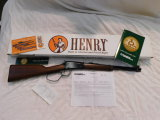 HENRY .22 CAL LEVER ACTION CARBINE - NIB