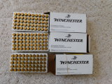 (3) 50 RD BOXES WINCHESTER .40 CAL AMMO