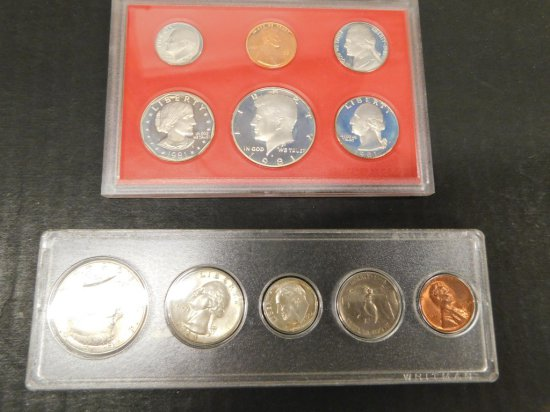 1981 U.S PROOF SET & 1964 U.S. MINT SET