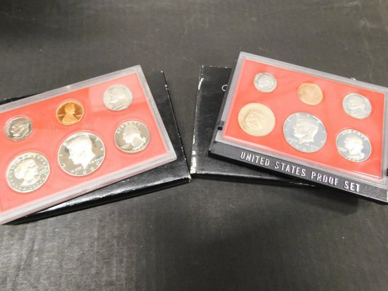 1980 & 82 U.S PROOF SET