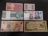 LOT OF ASSORTED FOREIGN BILLS