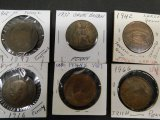 (6) FOREIGN COINS