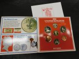 1985 UNITED KINGDOM ROYAL MINT UNCIRCULATED COIN COLLECTION