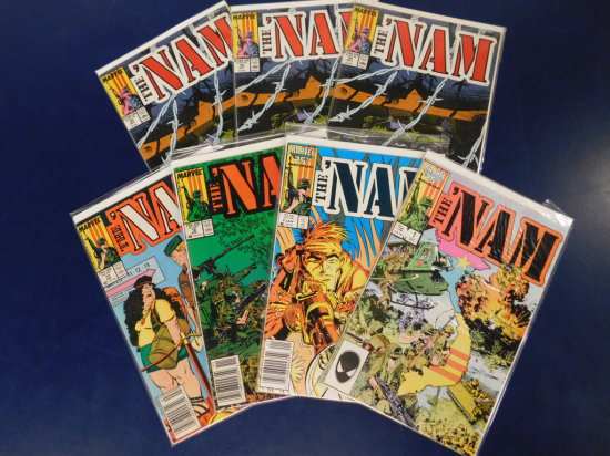 "(7) MARVEL COMICS ""THE NAM"""