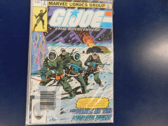 (3) MARVEL G.I.JOE COMICS IN ORIGINAL SEALED BAG
