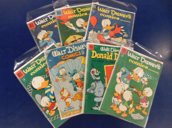 (9) WALT DISNEYCOMICS & STORIES - DELL COMIC