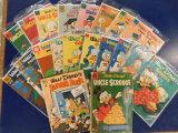 (20) WALT DISNEY'S COMICS AND STORIES - DELL COMIC BOOKS