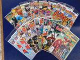 (16) KNIGHTS OF PENDRAGON COMIC BOOKS - MARVEL UK COMIC