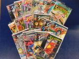 (18)  ASSORTED SUPERMAN COMICS - DC COMIC