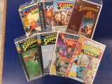 (8) ASSORTED SUPERMAN COMIC BOOKS - DC COMIC