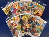 (11) KAZAR COMIC BOOKS - MARVEL COMIC