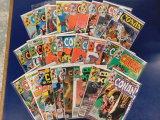 (25) CONAN THE BARBARIAN COMIC BOOKS - MARVEL COMIC