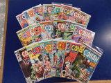 (22) CONAN THE BARBARIAN COMIC BOOKS - MARVEL COMIC
