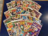 (25) THOR COMIC BOOKS - MARVEL COMIC