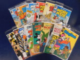(13)  MICKEY MOUSE COMIC BOOKS - ASSORTED PUBLISHERS