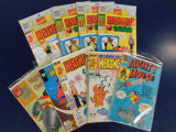 (14) MIGHTY MOUSE & HEATHCLIFF COMIC BOOKS - ASSORTED PUBLISHERS