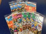 (9) MILLENNIUM COMIC BOOKS - DC COMIC