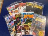 (9) THE PUNISHER NIGHTSTALKERS COMIC BOOKS - MARVEL COMIC