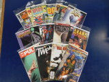 (15)  COMIC BOOKS -  VARIETY OF THEAMS - ASSORTED PUBLISHERS