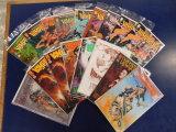 (8) TEEN TITANS / TITANS COMIC BOOKS - DC COMICS