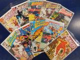 (10) AVENGERS WEST COAST COMIC BOOKS - MARVEL COMICS