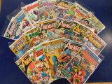 (18) AVENGERS COMIC BOOKS - MARVEL COMICS