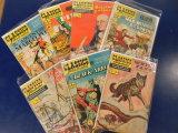 (7)  CLASSIC ILLUSTRATED COMIC BOOKS - GILBERTON CO.