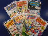 (7)ADVENTURE COMIC BOOKS
