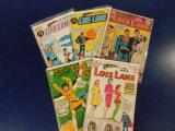 (5) LOIS LANE COMIC BOOKS - DC COMICS