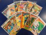 (12) SUPERMAN COMIC BOOKS - DC COMICS
