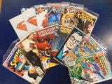 (13) SUPERMAN COMIC BOOKS - DC COMICS