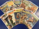 (10) ZANE GREY'S STORIES OF THE WEST COMIC BOOKS - DELL COMICS