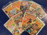 (9) KID COLT / APACHE KID COMIC BOOKS - MARVEL COMICS