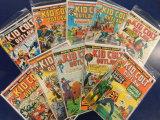(10)  KID COLD COMIC BOOKS - MARVEL COMICS