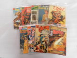 (9) ASSORTED WESTERN COMIC BOOKS - VARIOUS PUBLISHERS