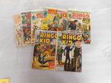 (8) MISC. WESTERN COMIC BOOKS - MARVEL & DC  COMICS