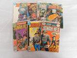 (8) JONAH HEX COMIC BOOKS - DC COMICS