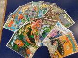 (14) AQUAMAN COMIC BOOKS - DC COMICS