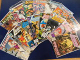 (15) LEGION OF SUPER HEROS COMIC BOOKS - DC COMICS
